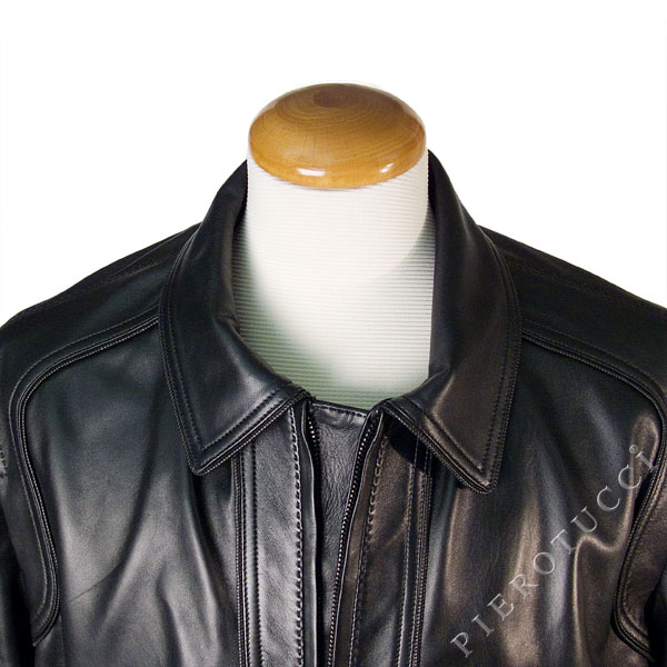 Customized Italian leather jackets for men from Florence Italy