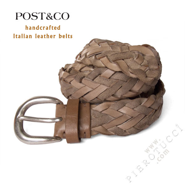 Post & Co. Italian Leather Belts from Florence Italy
