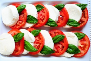 Caprese the tri-color treat from Italy