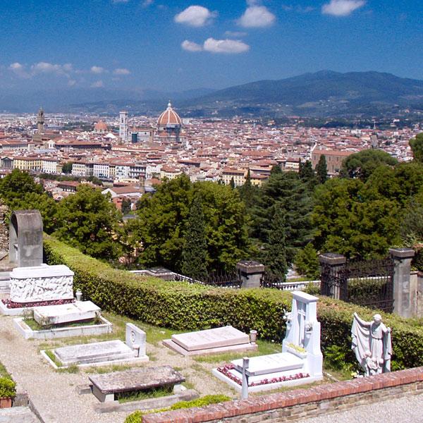 San Miniato al Monte in Florence Italy