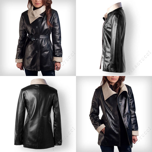 Italian leather jackets from Pierotucci