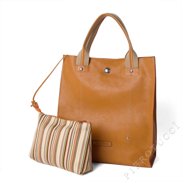 Toscanella Italian Leather Tote Bag from Pierotucci