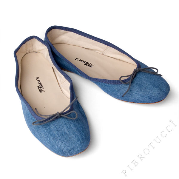 Porselli ballet flats from Florence Italy