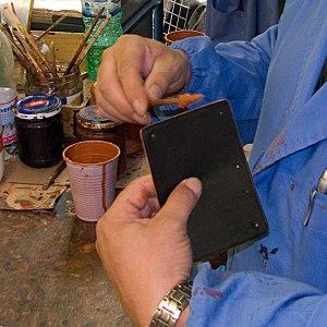 production toscanella keychain-a