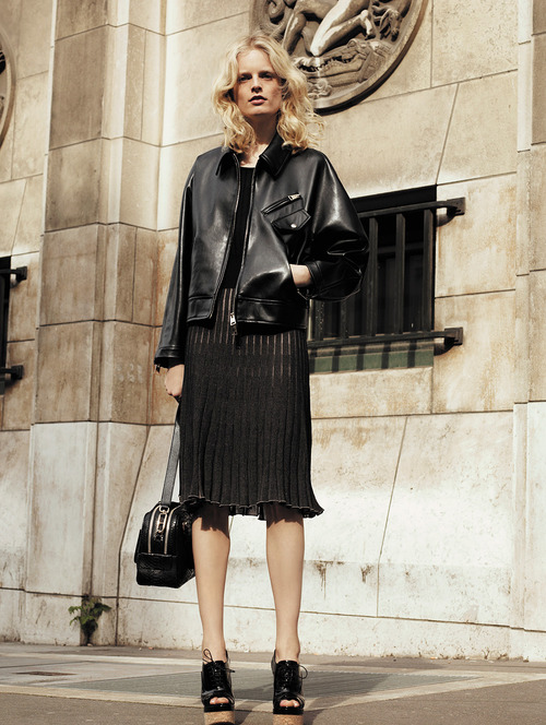 sonia rykiel resort 2014 and leather jackets from Italy