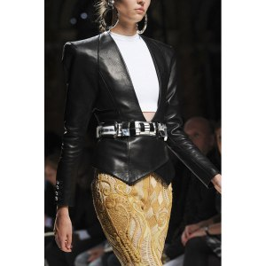 Balmain-spring-2013-leather jacket