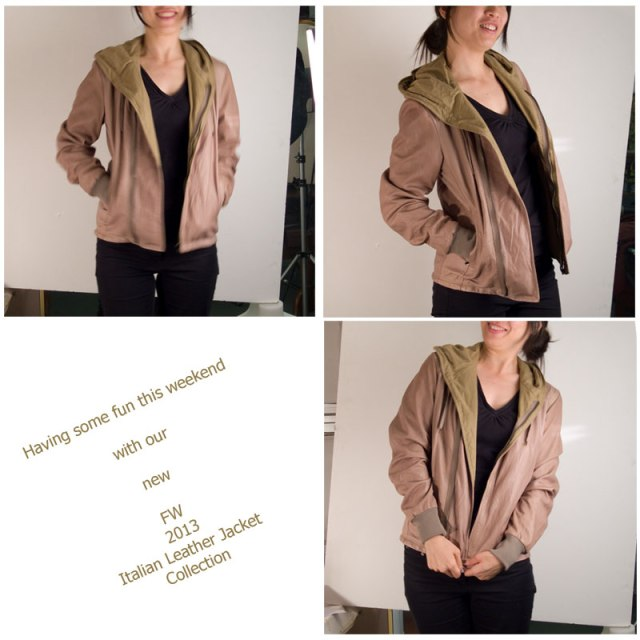 Pierotucci Italian leather jacket collection