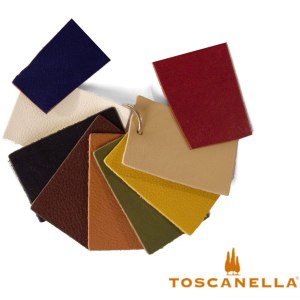 Vegetable tanned colors in Toscanella Italian Leather Handbags