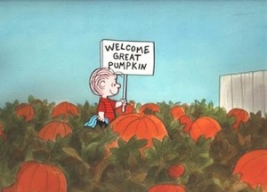 Welcome from Pierotucci and the Great Pumpkin