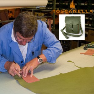 how to make an Italian leather handbag
