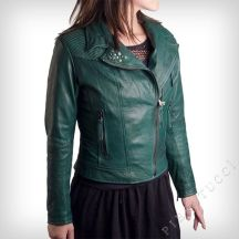 Ladies_Fitted_Bomber_Jacket_in_emerald_green_washed_leather_15916_zoom