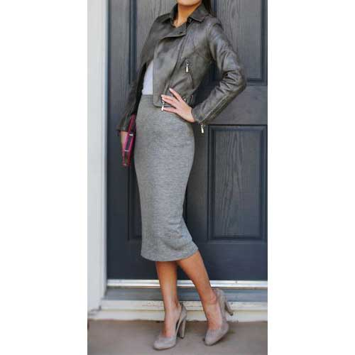Leather Jackets from Florence Italy & Wool skirts